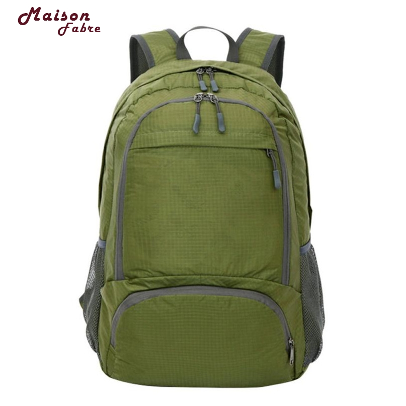 Maison Fabre Fashion Backpacks 6 Colors Nylon Soft Large Capacity Travel Shoulder Bag 2017 Hot DropShipping OB30