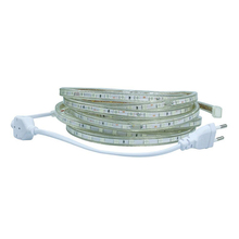 AC 220V led strip light SMD5050 60leds/M IP67 Waterproof Led flexible Tape 1M/2M/3M/4M/5M/6M/7M/8M/9M/10M/15M/20 + Power Plug