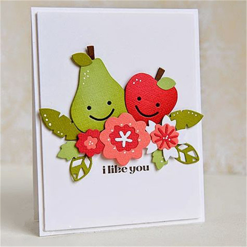 2x Butterfly Cutting Dies Stencil DIY Scrapbook Embossing Album Paper Card Craft