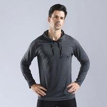 Мужская футболка с длинными рукавами для бега, уличная спортивная куртка, футболка, спортивная одежда для тренажерного зала, Джерси, тонкие осенние толстовки для верховой езды