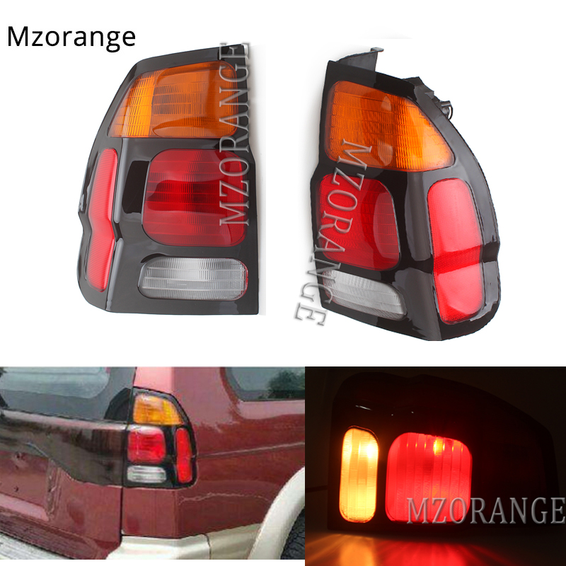 MZORANGE 1 Piece Tail Brake Lights For <font><b>Mitsubishi</b></font> Pajero MONTERO Sport 1999-2008 Rear Lamp Tail Light Assembly Car Styling image