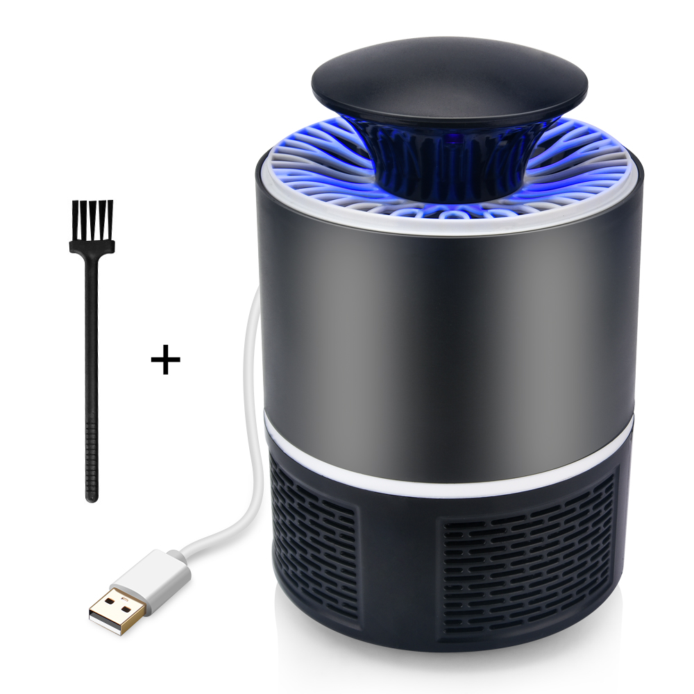 Security & Protection Learned Electric Mosquito Killer Lamp Led Bug Zapper Anti Mosquito Killer Lamp Insect Trap Lamp Killer Home Living Room Pest Control Access Control