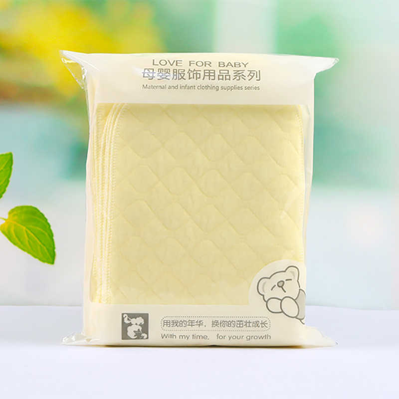 new reusable and easy use, soft and breathable baby modern cloth diaper nappy liners inserts 3 layers cheapest diaper 1pcs