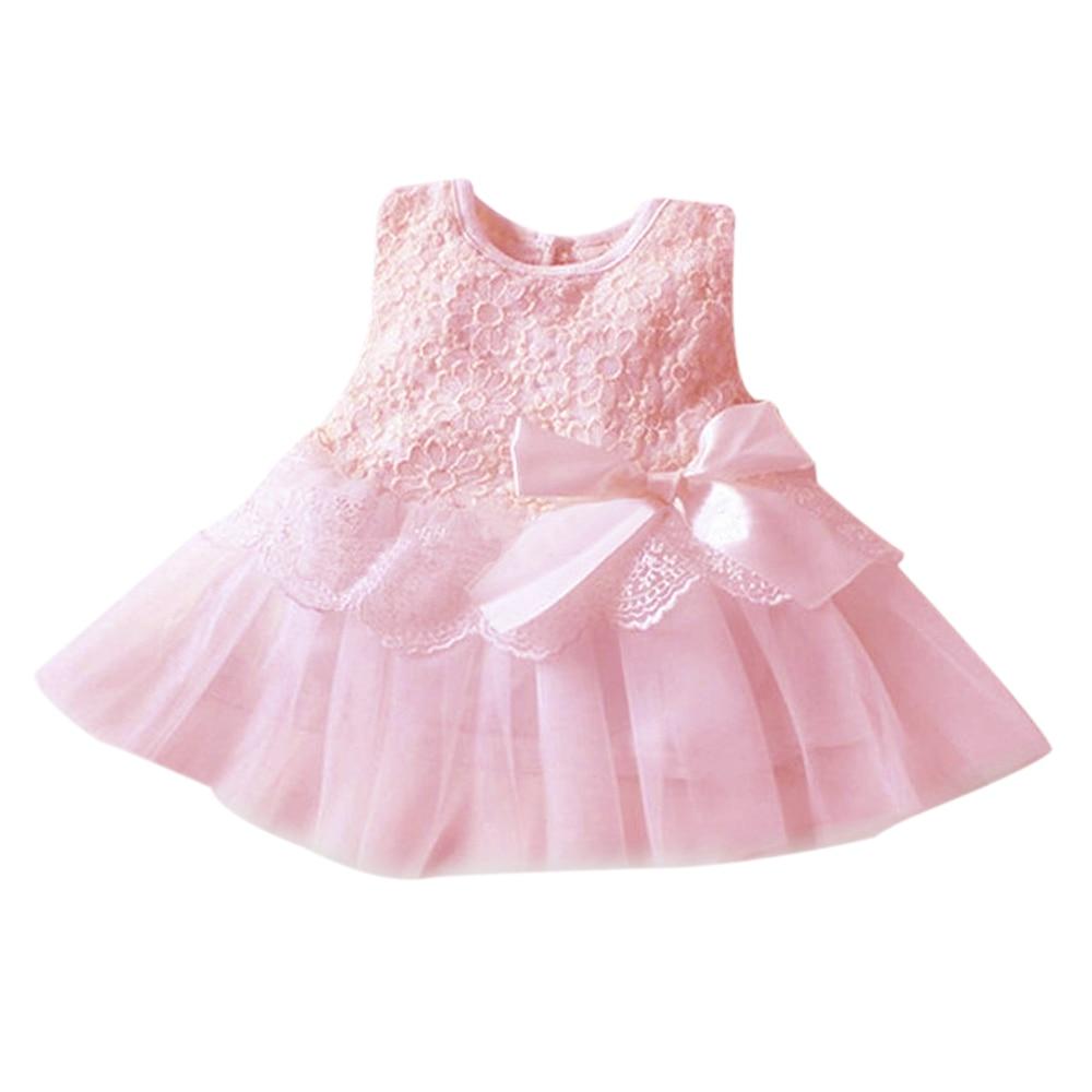 Платье для девочек; Новинка г.; платья для малышей; faldas tutu; платье для дня рождения с принтом героев мультфильмов; летняя одежда для маленьких девочек; Одежда для девочек - Цвет: pink