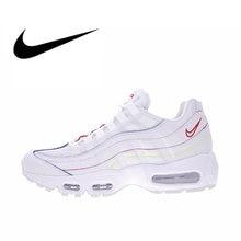 new styles dbd3f 1f5e5 Nike Air Max velours côtelé 95 femmes respirant chaussures de course Sport  baskets bonne qualité Designer