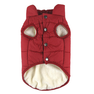 Image 3 - Winter pet coat clothes for dogs Winter clothing Warm Dog clothes for small dogs Christmas big dog coat Winter clothes chihuahua