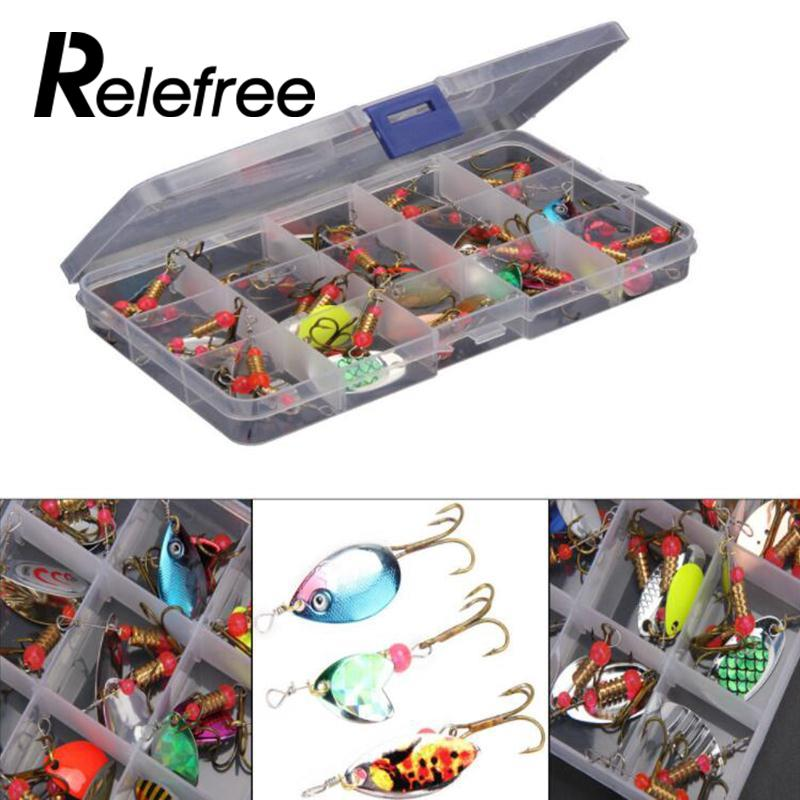 Relefree 30pcs Trout Spoon Metal Sporting Goods Fishing Lures Spinner Baits Bass Tackle h 265 h 264 8ch 48v cctv poe nvr ip camera security surveillance cctv system p2p onvif 4 5mp 8 4mp hd network video recorder