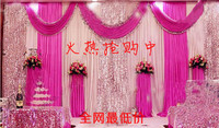 wedding backdrop wedding props costumes curtain supplies
