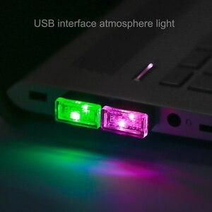 Kebidu мини светодиод машины светильник авто Интерьер атмосферу USB светильник декора Plug And игровая лампа аварийный светильник на ПК автотовары|USB-гаджеты|   | АлиЭкспресс