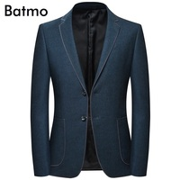 Batmo 2018 new arrival high quality casual blazer men,men's suits jackets ,casual jackets men plus size M 4XL 8126