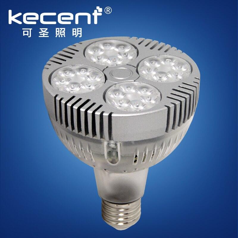 E27 Par30 Bright Small Led Spotlights 24/35/40W High Power