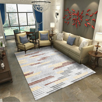 Living room tea table carpet bedroom wavy window mat 3D carpet home shop carpet