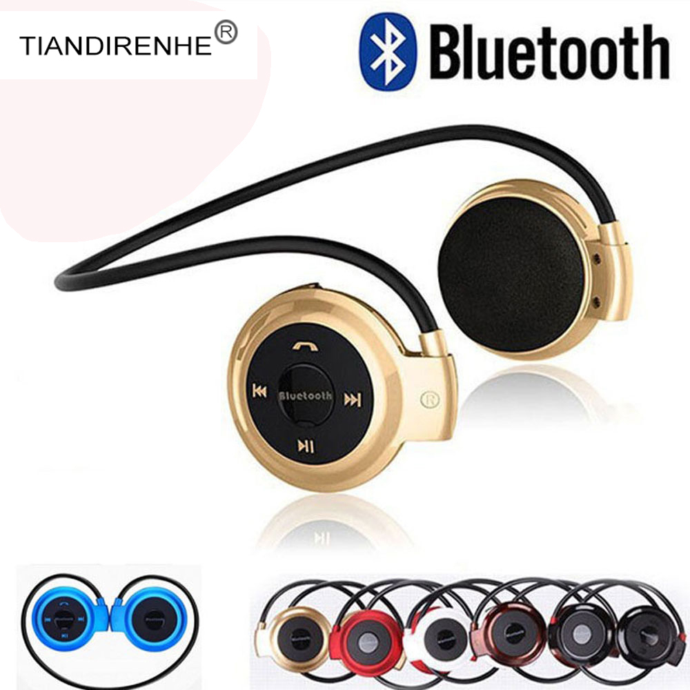 Mini503 Wireless Bluetooth Headphones Sport Music Stereo Bass Earphone SD Card Headphone with microphone Headset fone de ouvido ytom bluetooth headphones earphone wireless headphone with microphone low bass headset earphones for computer phone sport pc mp3