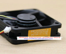 New Original SUNON GM1255PHV1-A 13.B1196.R.GN 12v 1.7w Alarm Signal  Projector cooling fan