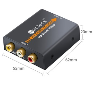 Image 5 - Neoteck 1080P 3RCA AV CVBS Composite To HDMI Converter for TV PC PS3 STB Xbox VHS VCR NTSC 720P/1080P AV to HDMI Adapter Scaler