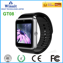 winait 2016 GSM smart watch phone with touch display and camera free shipping