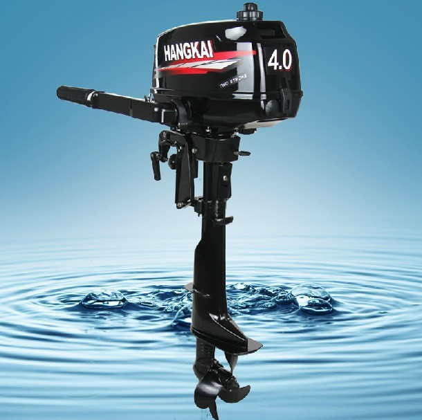 Brand new hangkai 4hp outboard motor inflatable boat motor for New outboard boat motors