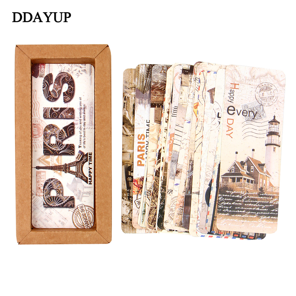 DIY Vintage Retro Classic Sticker Labels Adhesive Sticky Scrapbooking Paper for Home Diary Decoration Stationery Gifts Supplies
