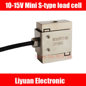 Image 1 - 10 15V Mini S Type Load Cell / Tension Sensor / Weighing transmitter 1kg 3kg 5kg 10kg 20kg 30kg 50kg
