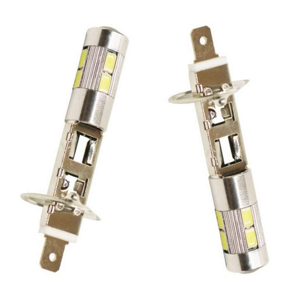 รถ LED แก้ไขหมอก H1 H3 56305730 10smd Highlight หมอกหลอดไฟหมอกโคมไฟทำงาน