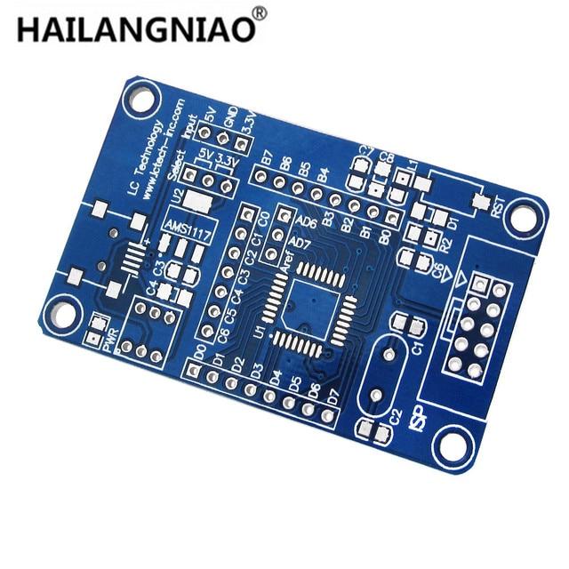 10 adet/grup ATmega8 48 88 168 AVR en minimum sistem çekirdek kartı geliştirme kurulu PCB boş plaka