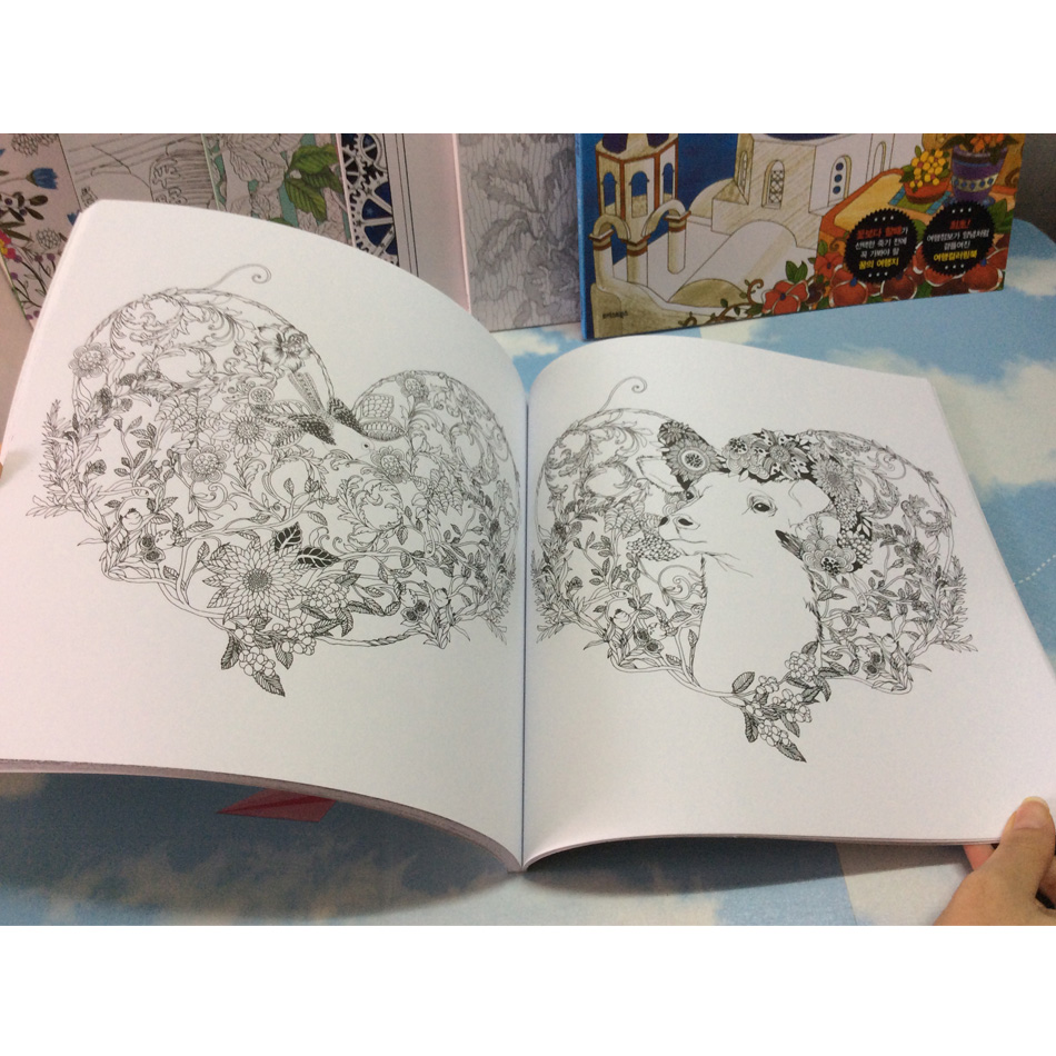 Image 4 - 82 Pages Dream Adults Coloring Books Graffiti Painting Drawing Secret Garden Colouring Book For Adults Children-in Books from Office & School Supplies