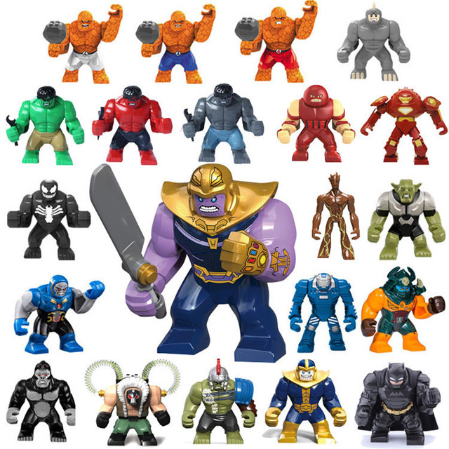 The Avengers Action Figure Legoings