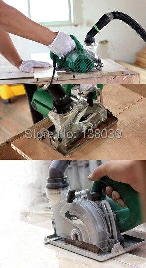 125 мм беспыльная мраморная гранитная плитка каменная машина для резки стены канавок машина без пыли