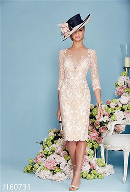 Hotest Ronald Joyce CHIFFON AND LACE Mother Of The Bride Dress SLIM ...