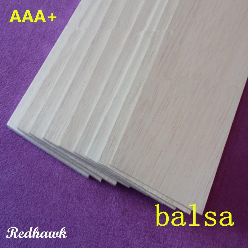 Balsa Wood Sheet ply 250mm long 100mm wide mix of 0.75/1/1.5/2/2.5/3/4/5/6/7/8/9/10mm thickness each 1 piece model DIY 1sheet matte surface 3k 100% carbon fiber plate sheet 2mm thickness