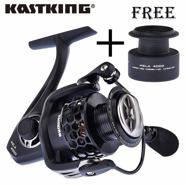 KastKing New Mela Super Light Weight Graphite Body Max Drag 12KG Carp Fishing Reel Spinning Reel Free Shipping