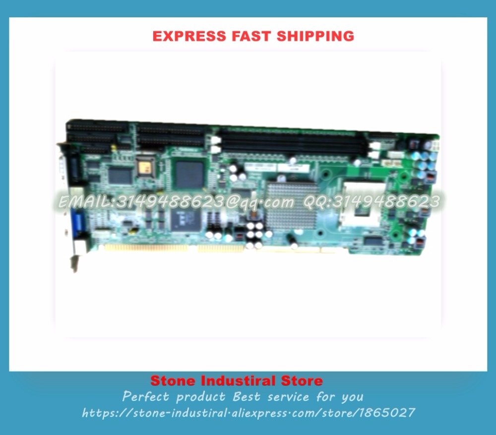 Industrial Motherboard NUPRO-841 REV: 3.0 send P4 CPU 100% test good quality  цены