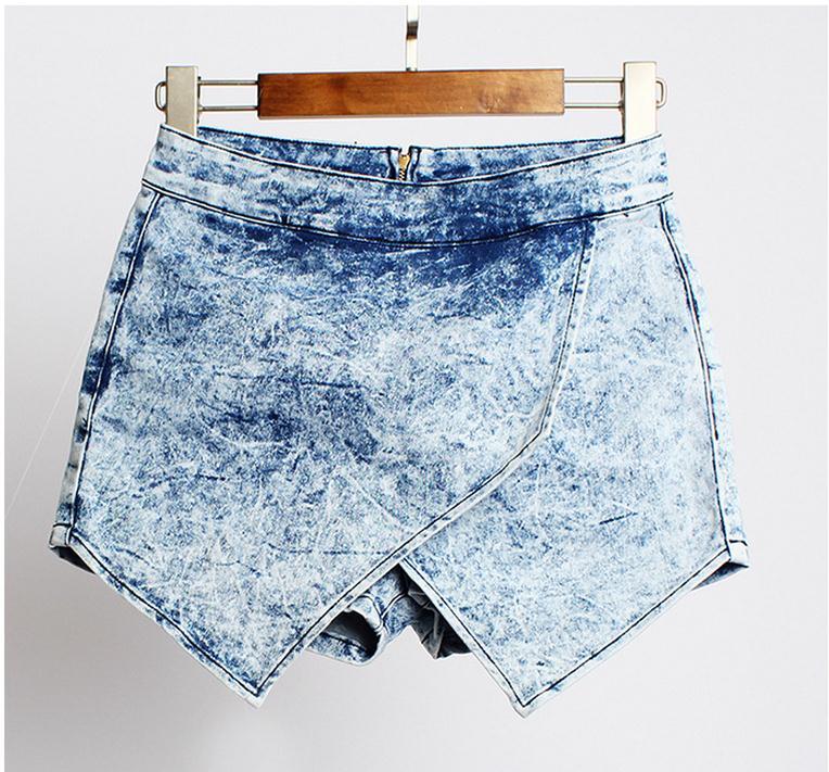 2020 New Arrival Women Summer High Waist Shorts Casual Jeans Shorts Sexy Large Size Female Denim Cowboy Short Size 32/44 K228