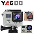 Nova chegada! original câmera gopro hero 5 yagoo6 action camera full hd 1080 p wifi action cam à prova d' água esporte câmera remota dv