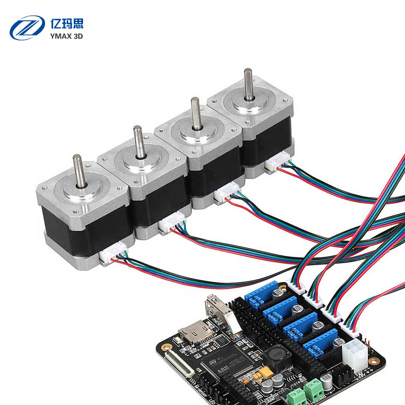 3d printer parts stepper motor for mk8 extruder 3d printer for Print head stepper motor