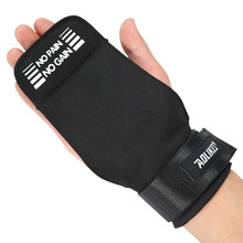 Weightlifting Gym Wrist Hand Grips Microfiber/Cowhide Crossfit WOD Training Gloves Fitness Sports Dumbbell Barbell Bodybuilding