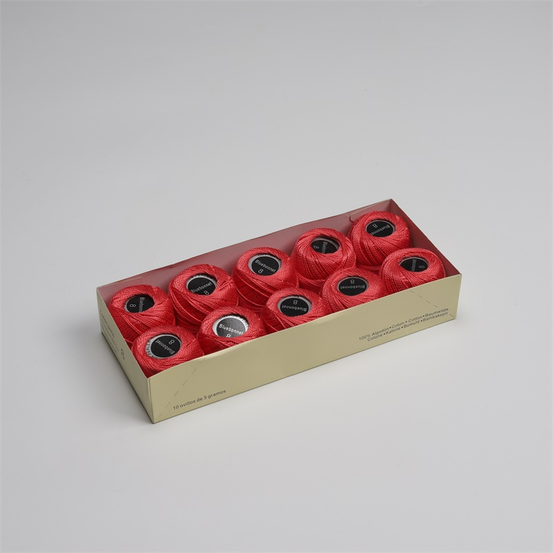 Размер 8 жемчужная хлопковая нить для вышивки крестиком 43 ярдов(5 грамм) на шарик Двойной Мерсеризованный длинный штапельный хлопок 10 шариков в цвет - Цвет: 982