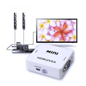 Image 5 - Kebidu HDMI 오디오와 VGA 변환기 HDMI2VGA 1080P 어댑터 커넥터 PC 노트북에 HDTV 프로젝터 HDMI 2 VGA 변환기