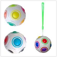 magic rainbow ball Creative Spherical Magic Cube Rainbow Puzzles Kids Educational Toys for Children Magic Cube