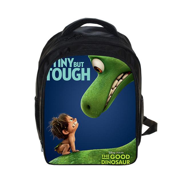 The Good Dinosaur Backpack Cartoon Character Printing Teenage Girls Children SchoolBag for Boys 13″ Kindergarten Bag Chica