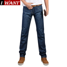 2016 New Fashion High Quality Famous Brand Men Jeans Cotton Denim Jeans Casual Straight Washed Pants Levy Jeans plus Size:28~38