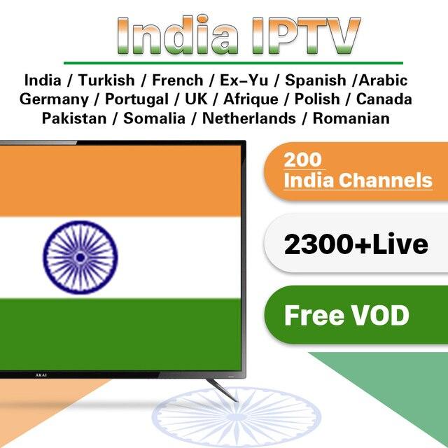 3 Months Turkish India EX YU IPTV Subscription for Android IPTV Italian India Free Test IP TV Germany French Arabic Turkey IPTV