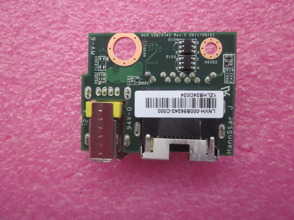 I/O (RJ45+USB) Sub Card For Lenovo ThinkPad T430 T430i Servies FRU 04W3690 usb charge dock sub pcb s010 sub
