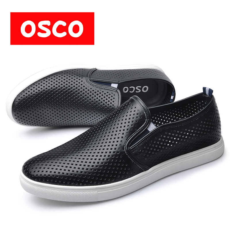 OSCO Factory direct SUMMER New Men hoes Fashion Men Casual Breathable loafers shoes #S3648 free shipping factory direct sales good quality new spring summer 2016 korean version brand men straight jeans cheap wholesale