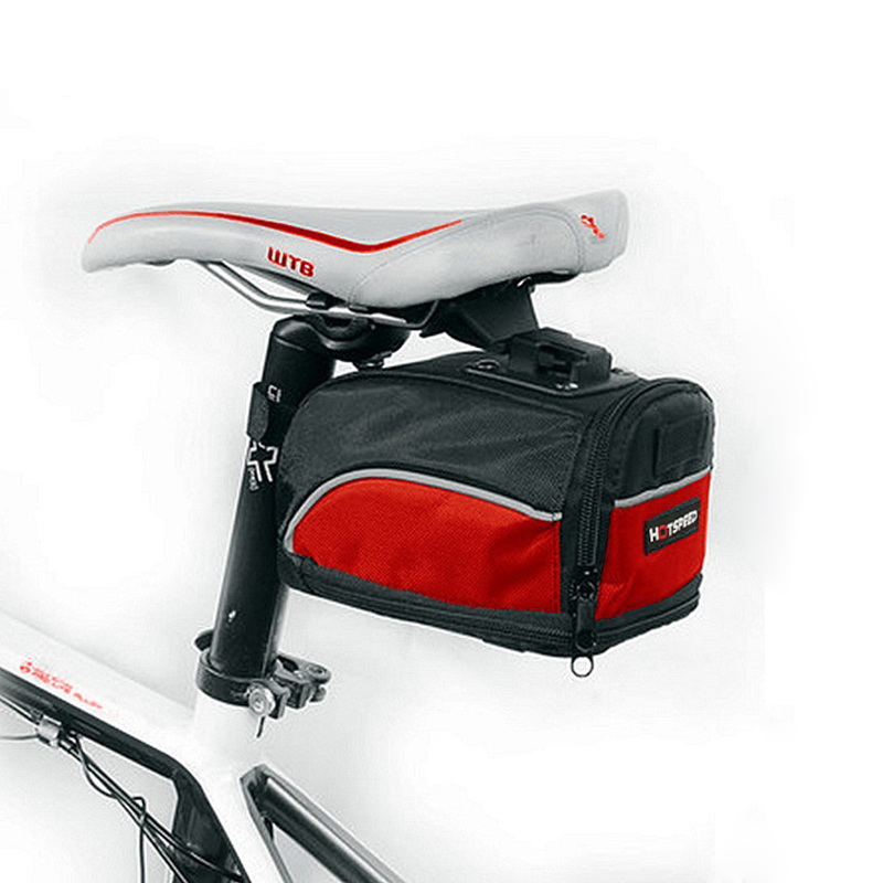 Bicycle Tail Mountain Bike Tail Road Car Bag Saddle Bag Pouch Seat Bag US
