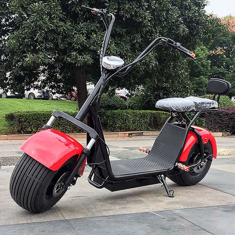 free tax uk flag harley electric scooter citycoco lithium battery electric double seat 1000w us209. Black Bedroom Furniture Sets. Home Design Ideas