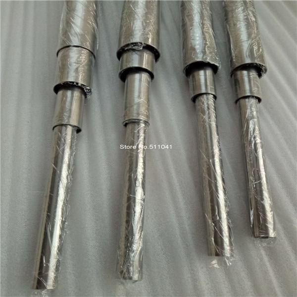 Tubes en titane sans soudure de Grade 9 22mm * 0.9mm * 1000mm, prix de gros 6 pièces