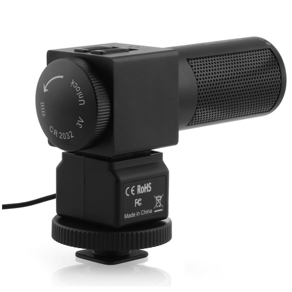 Takstar SGC 698 Stereo Microphone Camera Microphone for Nikon Canon DSLR Camera DV Camcorder Photography interview