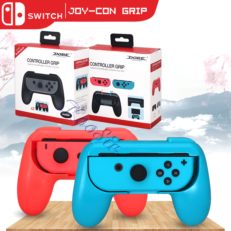 2 Pcs Nintendos Nintend Switch Accessories ABS Joycon Controller Handle Grip Gamepad Stand Holder For Nitendo Nintendoswitch
