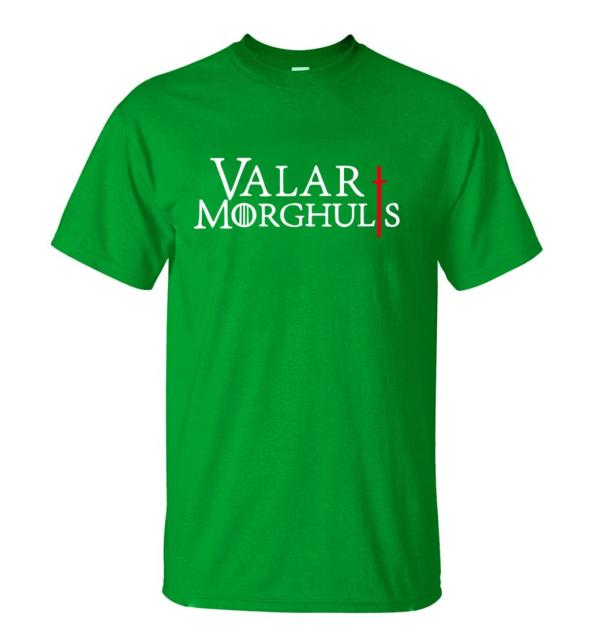 GAME OF THRONES VALAR MORGHULIS T-SHIRT (8 VARIAN)
